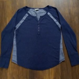 Women's Lucky Brand Thermal Henley Top